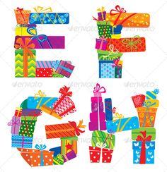 EFGH - Alphabet of Presents