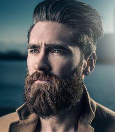 smart sieht für Männer mit kurzen Haaren und Bärten
