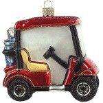 #Christbaumschmuck#Golfwagen#bei www.gartenschaetze-online.de