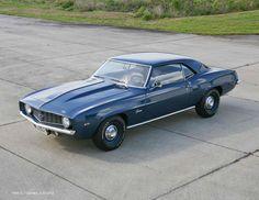 1969 Camaro COPO ZL1 Blue
