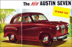 Austin 1951 Austin Cars, Austin Seven, A30, Classic Trucks, Vintage Cars, Motorcycles, Funny Quotes, British, England