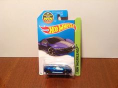 Hot Wheels '12 Acura NSX Concept #191 of 250 Speed Team 2015 Blue 2012 #HotWheels #Acura