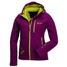 This ladies softshell jacket is lined with fleece and has a adjustable hood. The jacket has two zipped side pockets and one zipped chest pockets. The hood and the seam are adjustable. The main zipper has a chin protector.