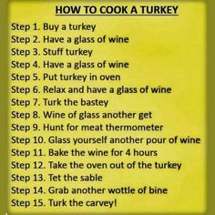 Most important recipe of all!!!!