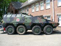 Boxer ambulancevoertuig