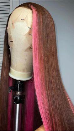 Black Girl Braided Hairstyles, Baddie Hairstyles, Weave Hairstyles, Dyed Natural Hair, Dyed Hair, Curly Hair Styles, Natural Hair Styles, Birthday Hair, Hair Laid