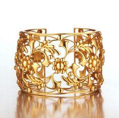 Gold cuff...indian design