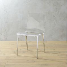 Tobias stuhl transparent verchromt ikea das haus for Stuhl tobias