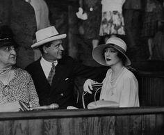 William K. Vanderbilt in their box at Saratoga. Old Paris, Old London, Zelda Fitzgerald, Glamour Ladies, Charles Spencer, Marquess, Gloria Vanderbilt, Mr Mrs, Vintage Photographs