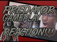 PREDATOR MKX GAMEPLAY REACTION!!!!!!!!!!