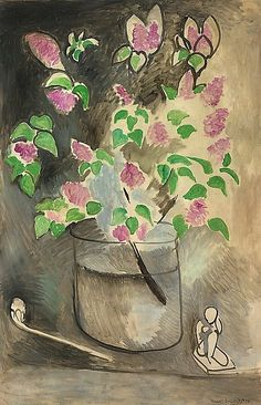Branch Of Lillacs 1914 By Henri Matisse : Branch Of Lillacs 1914 By Henri Matisse Art Reproduction from Wanford Henri Matisse, Matisse Kunst, Matisse Art, Art Amour, Matisse Paintings, Ouvrages D'art, Post Impressionism, Art Graphique, Oeuvre D'art