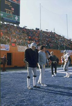 0318c58ade28 Snake and Foo before the '77 AFC Championship in Denver. Oak Raiders,  Raiders