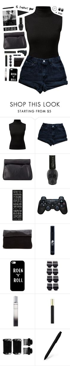 """""""836"""" by glitterals ❤ liked on Polyvore featuring Levi's, Charlotte Russe, Sony, Diptyque, Casetify, T3, Gucci, Tom Ford, Justin Bieber and Moleskine"""
