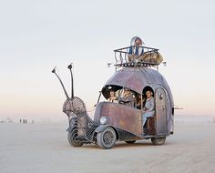 """Credit: Scott London This temporary community is known as Burning Man. Described as """"Summer camp for adults"""" and """"The cheapest trip to Mars you'll ever take"""", Burning Man had humble beginnings on a San Francisco beach."""