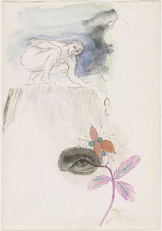 Odilon Redon. The Eye. (c. 1912)