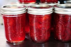 Canning your own strawberry jam...She makes it look easy enough that I might just try it myself!