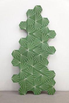 Dandelion lawn/milk encaustic cement tiles - Claesson Koivisto Rune for Marrakech Design 2012 collection