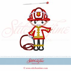 fireman applique design - Google Search