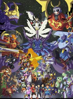 Digimon Frontier by takugirl on DeviantArt Digimon Frontier, Digimon Seasons, Digimon Wallpaper, Digimon Adventure 02, Robot Cartoon, Digimon Tamers, Pokemon, Digimon Digital Monsters, Anime Comics