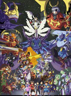 Digimon Frontier by takugirl.deviantart.com on @DeviantArt