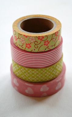Great etsy shop for washi tape, paper straws, ice cream cups, decorative ribon, baker's twine, etc.