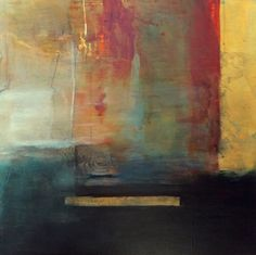 Contemporary Abstract Mixed Media Painting Faith by Intuitive Artist Joan Fullerton, painting by artist Joan Fullerton
