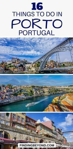 Looking for things to do in #Porto, Portugal? Check out our list of the best Porto must do's, things to see and top recommendations. #portugal #travel #portotips #portoguides #portugalguides #portugaltips #portugalhighlights #bestofporto | What to do in Porto | Places to visit in Porto | Top things to do in Porto | #traveltips #traveleurope #thingstodo #visitlisbon #visitinglisbon | Must see things in Porto | #destination #portugaltravel