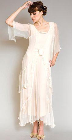Nataya Dress AL-10709 in Ivory