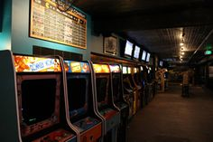 One of my favorite bars! Classic Arcade games and beer? What more could the inner nerd want?!