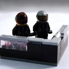 Daft Punk LEGO Minifigs