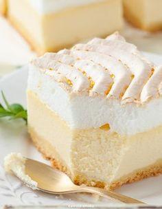 Tart Recipes, Cheesecake Recipes, Sweet Recipes, Dessert Recipes, Polish Desserts, Polish Recipes, Best Green Juice Recipe, Hungarian Cake, Sweet Pie