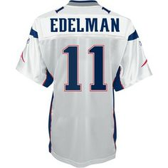 Official New England Patriots ProShop - Jullian Edelman Replica Away Jersey 65efbc25d