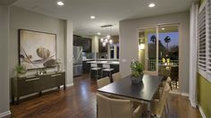 Inspired by #modern #decor in the dining room? Look for sleek lines and simplistic designs.