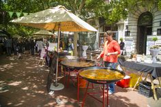 Organic Food market in St George's Mall. Thursdays Only