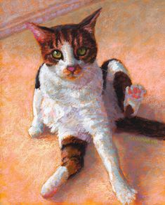 Lucky by Rita Kirkman Pastel ~ 10 x 8 inches