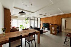 モダンに齢を重ね続ける ヴィンテージマンションリノベ事例 «  ac blog Room Interior, Interior Design, Cozy Fashion, House Rooms, My Dream Home, Kitchen Design, New Homes, House Design, Living Room