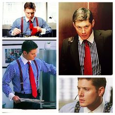 Dean Smith. Is it wrong I liked seeing him in a suit that wasn't blue or black?