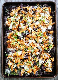 Buffalo Chicken Nachos | 31 Delicious Things To Cook In March