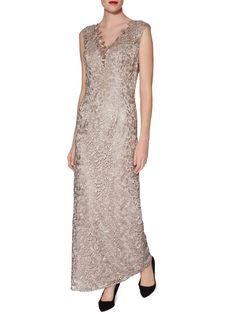 Gina Bacconi Leticia Maxi Dress And Scarf - House of Fraser