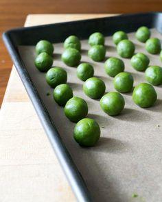 Matcha (Green Tea) Lemon Meltaway Cookies — Oh, How Civilized