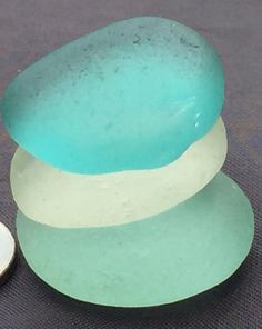 Sea Glass or Beach  of Hawaii beaches  AQUA by SeaGlassFromHawaii