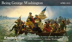 A great website established to help us restore the basic values and principles that made George Washington a great man.