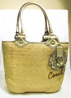 $20 Starting Bid: Authentic Coach Handbag Tote