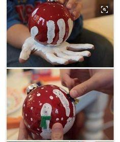 Persoonlijke kerstbal, leuk als cadeau voor bijvoorbeeld oma.