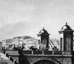 Anichkov bridge in St. Petersburg - Vasily Sadovnikov