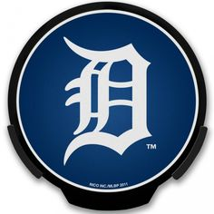 Detroit Tigers MLB Light Up POWER DECAL