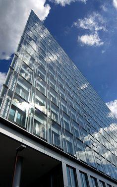 NRW-Bank. Dusseldorf, Niemcy Produkty: SGG COOL-LITE SKN 165 SILENCE. #glass #architecture #desing #future #futuristc_architecture #glassisthefuture