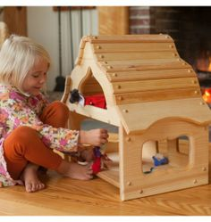 Nova Natural Toys + Crafts - Playing - Fairy Tale Cottage
