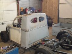 SNAIL :: View topic - Building a 2cv pickup