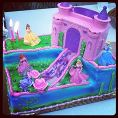 Disney Princess birthday cake, thanks to my wonderful mother!